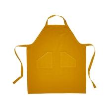 Achat en ligne Tablier uni 100% coton lavé, curry