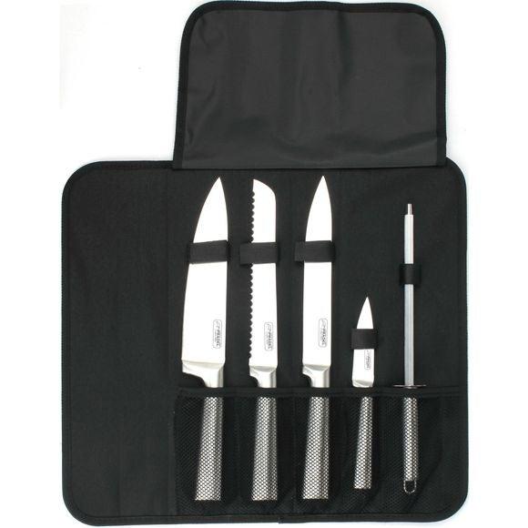Valigetta da cuoco con 4 coltelli