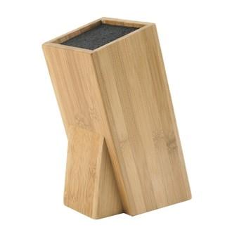 Bloc couteaux universel en bambou