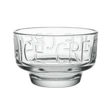 Achat en ligne Coupe à glace en verre, décor Boston Ice Cream 32cl