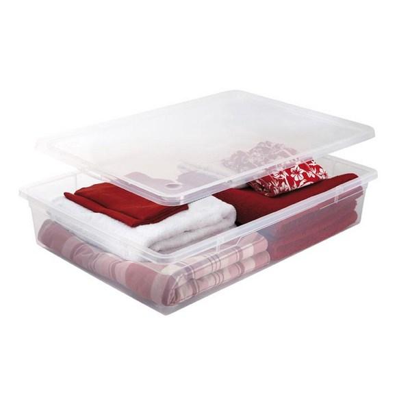 compra en línea Caja de almacenamiento para debajo de la cama Clearbox (55L)