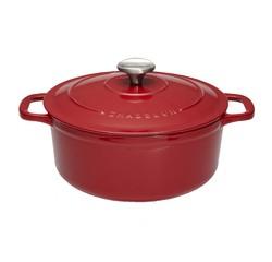 acquista online Cocotte ovale en fonte rouge 24cm 3,8L