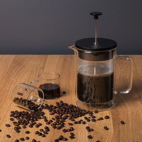 Cafetière piston double paroi 0,8L