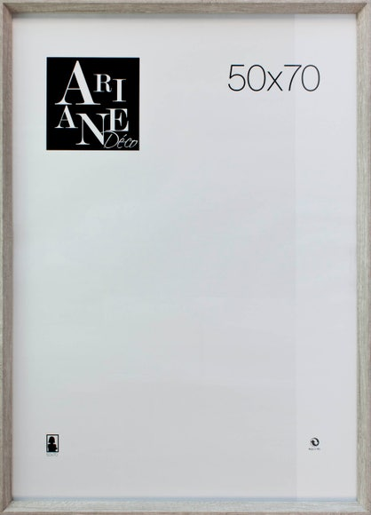 Achat en ligne Cadre moulure MDF blanchi 50x70cm