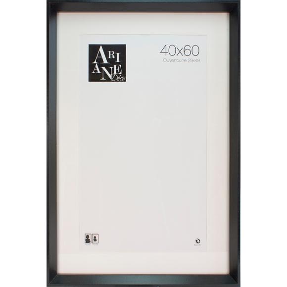 Cadre pente noir 40x60cm