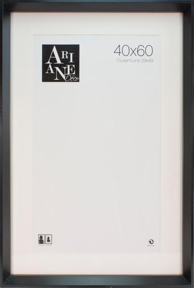 Achat en ligne Cadre pente noir 40x60cm