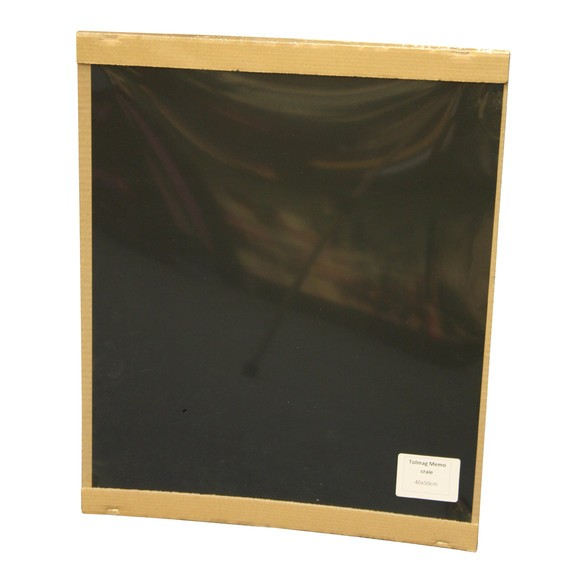 Plaque en métal adhésive en ardoise 40x50cm