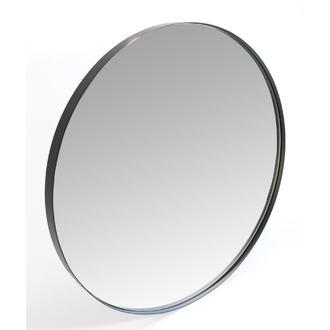 Miroir rond neutral noir 40cm