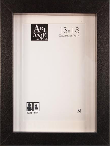 Achat en ligne Cadre vitrine noir 13x18cm