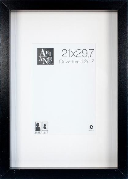 Achat en ligne Cadre vitrine noir 21x29,7cm