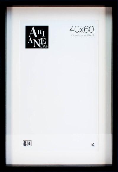 Achat en ligne Cadre vitrine noir 40x60cm