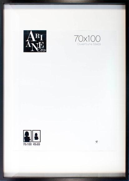 Achat en ligne Cadre vitrine noir 70x100cm