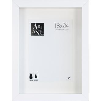 Cadre Vitrine Blanc 18x24cm