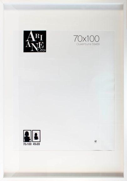 Achat en ligne Cadre vitrine blanc 70x100cm