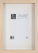 Achat en ligne Cadre vitrine chêne 21x29,7cm