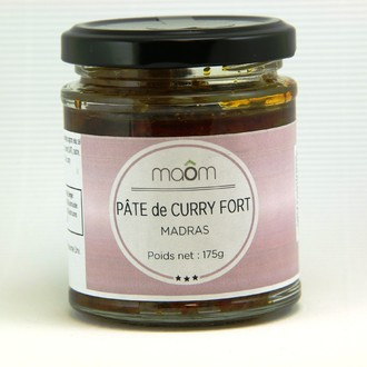 Pâte curry madras 175g