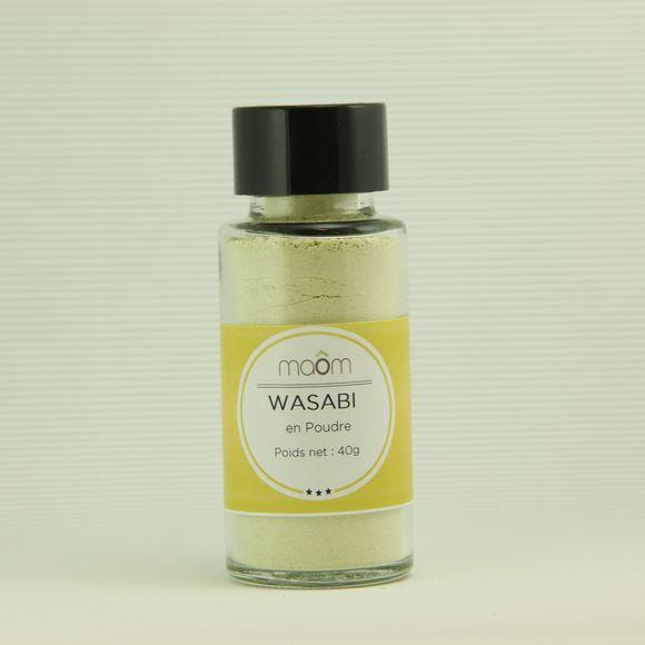 Moutarde verte wasabi en poudre 40g