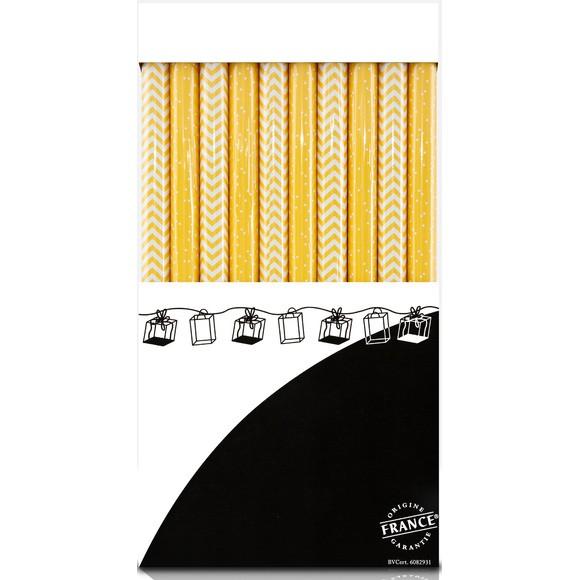 Rouleau papier cadeau moutarde 0,70x2m