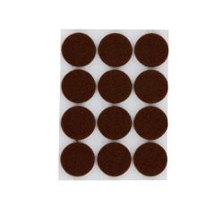 Achat en ligne Patin adhésif rond feutre brun Ø22X12mm