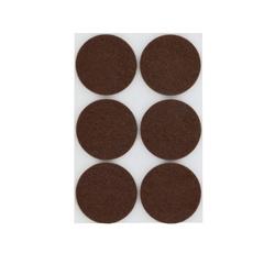 Achat en ligne Patin adhésif rond feutre brun Ø32x6mm