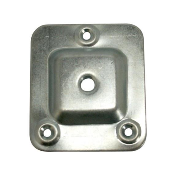 Platine carrée de fixation 6,6x5,8cm