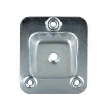 Achat en ligne Platine oblique de fixation pour pied de meuble 66x58mm
