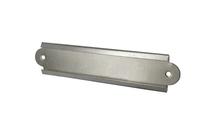 Achat en ligne Porte étiquette bouts ronds fente de 1cm acier 7x1,5cm