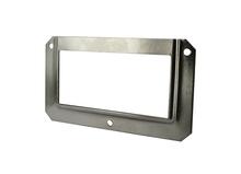 Achat en ligne Porte étiquette ouverture dessus acier 6,9x4cm