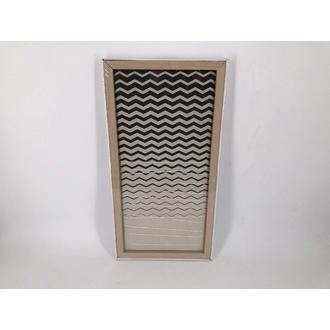 Pêle-mêle photos tissu élastique chevron - 30x60cm