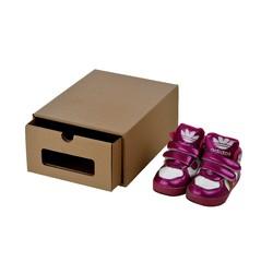 Achat en ligne Boîte à chaussures à fenêtre 25x19x11