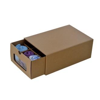 Boîte à compartiments à fenêtre 32x23x13