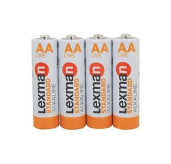Achat en ligne 4 piles LR6 AA alkaline