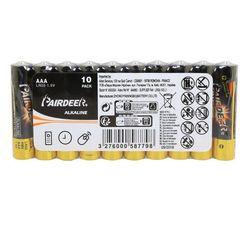 Achat en ligne 10 piles LR03 AAA alkaline