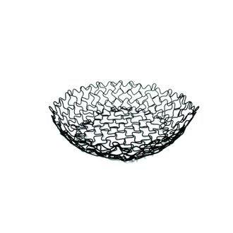 ZODIO - Corbeille à fruits ronde noire 20,5cm