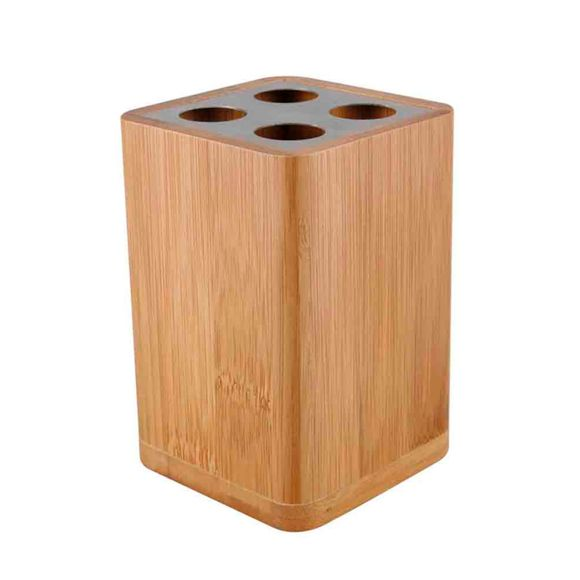 acquista online Porta spazzolino in bambù