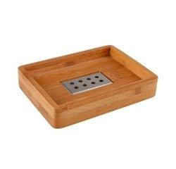 compra en línea Jabonera de madera de bambú Holz