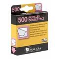 Distri 500 carrés adhésifs double face