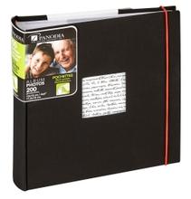 Achat en ligne Album photo 200 vues noir Linea 11,5x15cm
