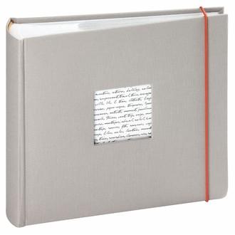 Album photo 200 vues gris Linea 11,5x15cm