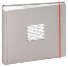Achat en ligne Album photo 200 vues gris Linea 11,5x15cm