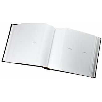 Album photo 300 vues pochettes noir linea 11x15cm
