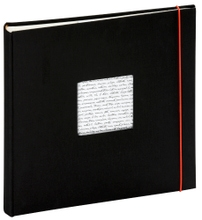 Achat en ligne Album photo traditionnel 60 pages noir Linea 30x30cm