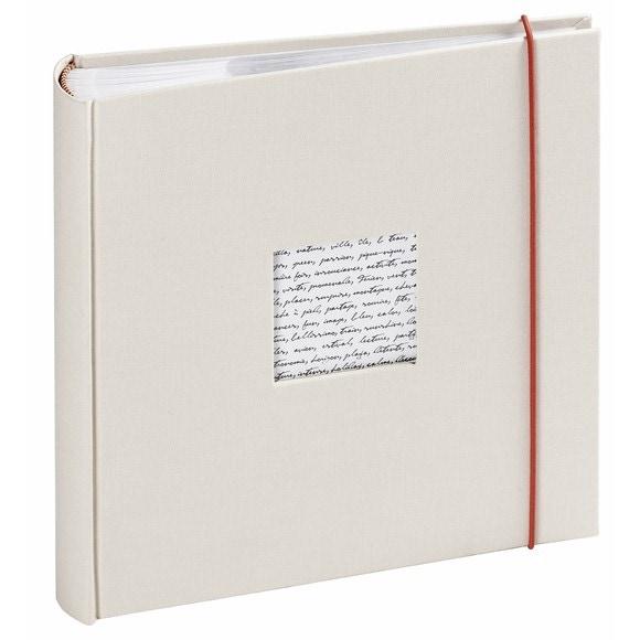 Achat en ligne Album photo traditionnel 200 vues blanc cassé Linea 11,5x15