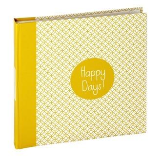 Album Happy days 80 vues moutarde 10x15cm