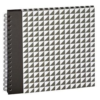 Album à spirales 60 vues triangle zinc 10x15cm