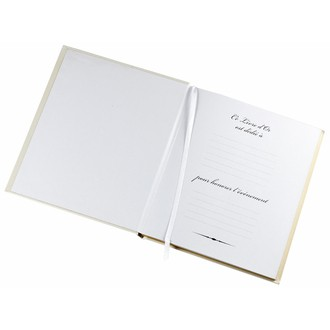 Livre d'or traditionnel boston 80 pages