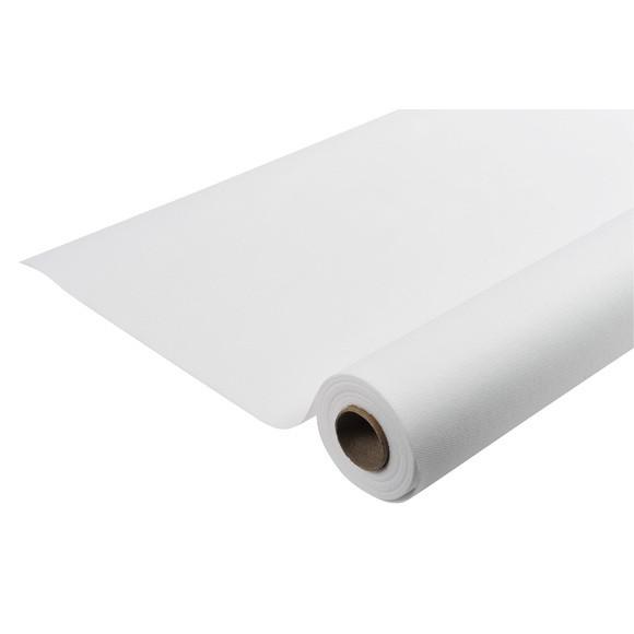 Achat en ligne Nappe indéchirable et imperméable blanc en rouleau 1,2x10m