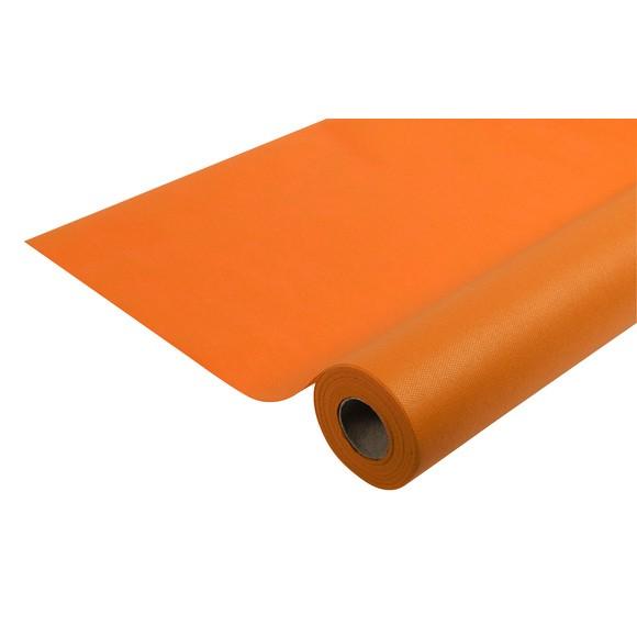 Nappe indéchirable et imperméable orange en rouleau 1,2x10m