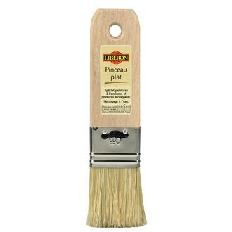 LIBERON - Pinceau plat en soies naturelles blondes 40 mm