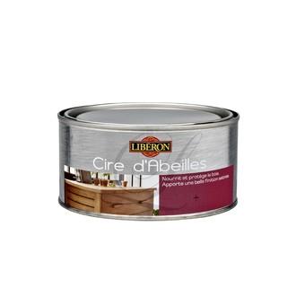 LIBERON - Cire d'abeilles en pâte incolore 250 ml